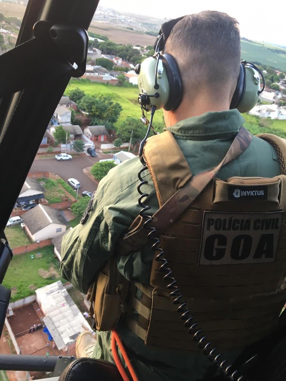 Operação ocorre em Maringá nesta quinta-feira (6) - Foto: Polícia Civil/Divulgação
