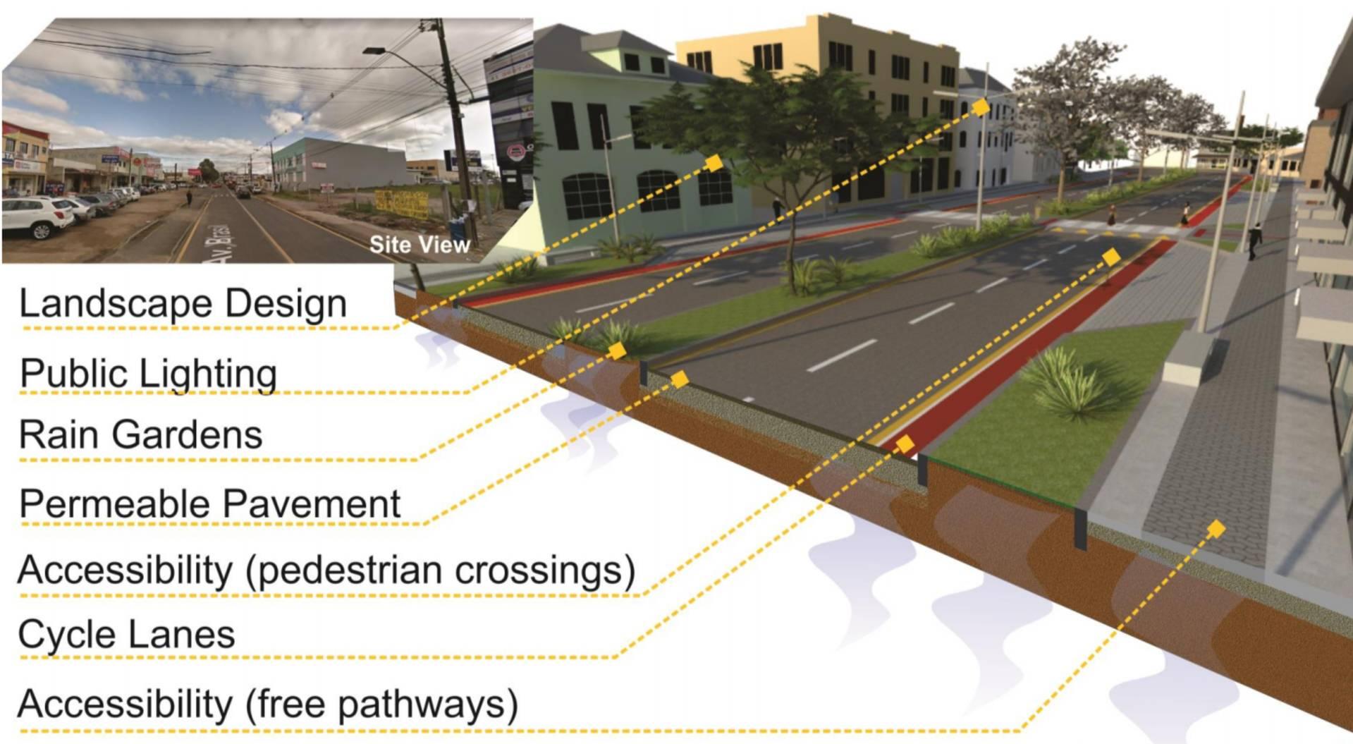 Projeto que propõe a requalificação das vias urbanas dos municípios é um dos cinco selecionados, entre as 97 concorrentes do mundo, para apresentação no Fórum Mundial de Urbanismo, nesta segunda-feira (10), em Abu Dhabi