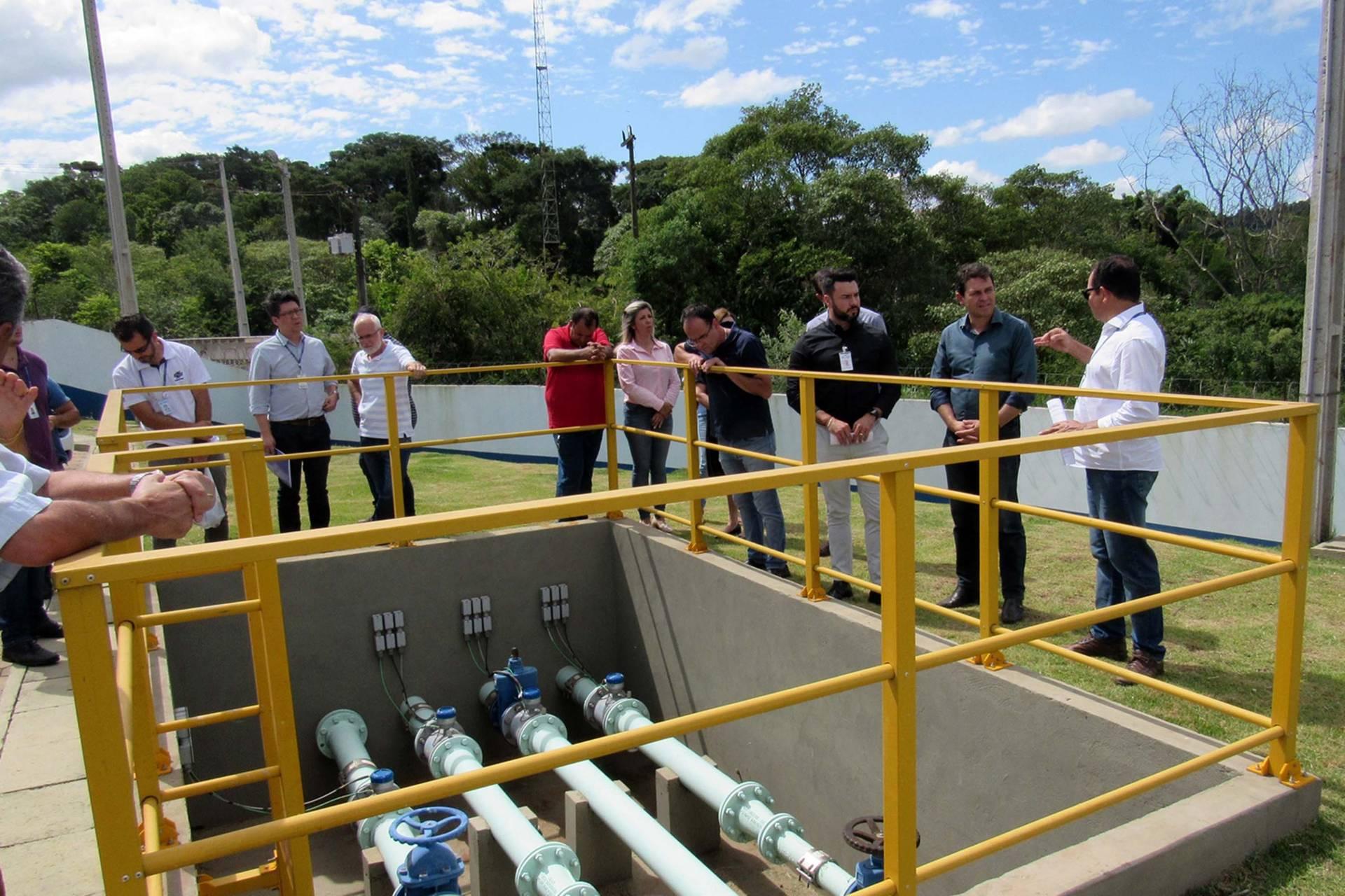 Obras que estão em fase final também garantem abastecimento de água a 100% da população