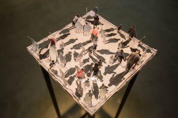 """A exposição """"10+10"""" é aberta a visitação das 9h às 20h, no CAC Maringá"""