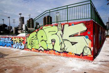 Cultura hip hop ganha reforço com inauguração do Maringá Skate Park